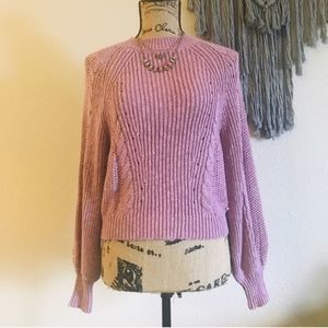 AMERICAN EAGLE Chunky Knit Cable Sweater XS